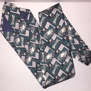 100% silk Philadelphia Eagles necktie